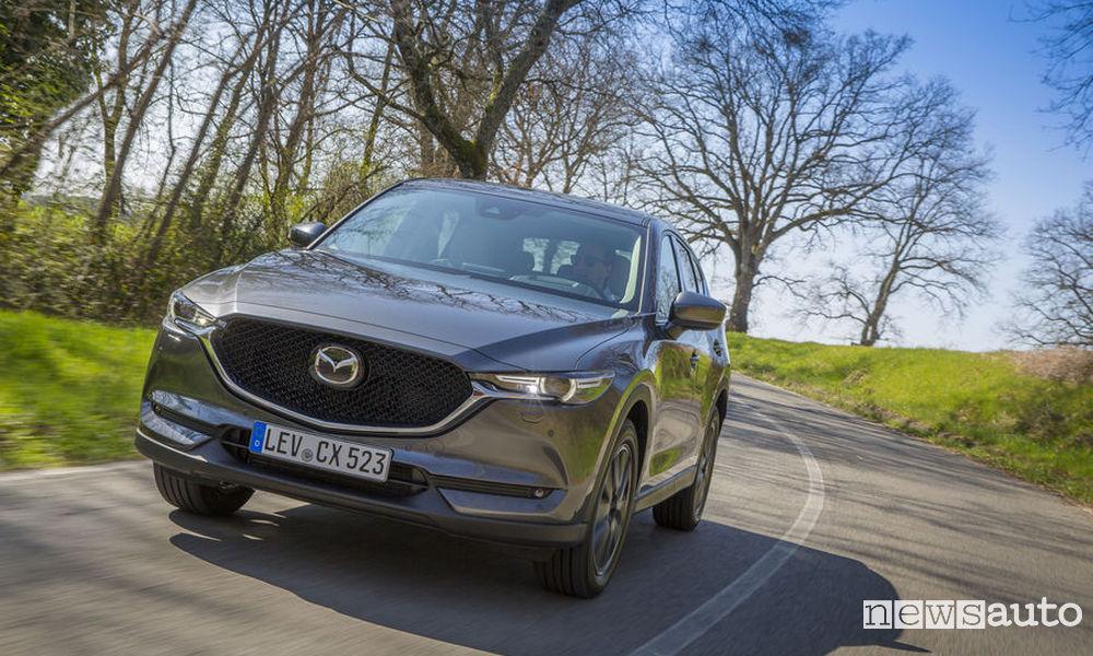 Mazda CX-5 in offerta con promozione luglio 2018
