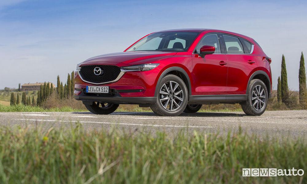 Promozione Mazda CX-5 evolve luglio 2018