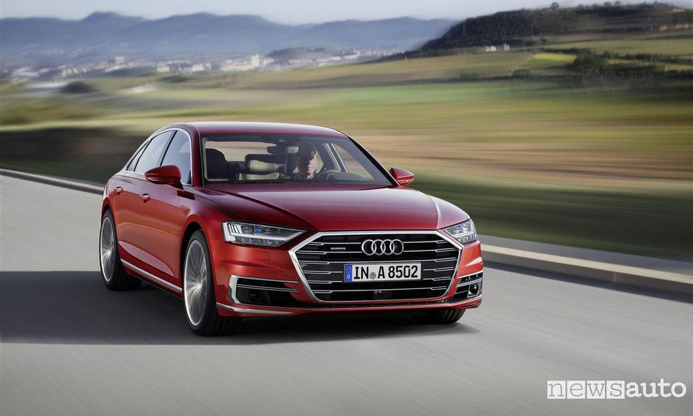 Photo of Tulle le foto della nuova Audi A8