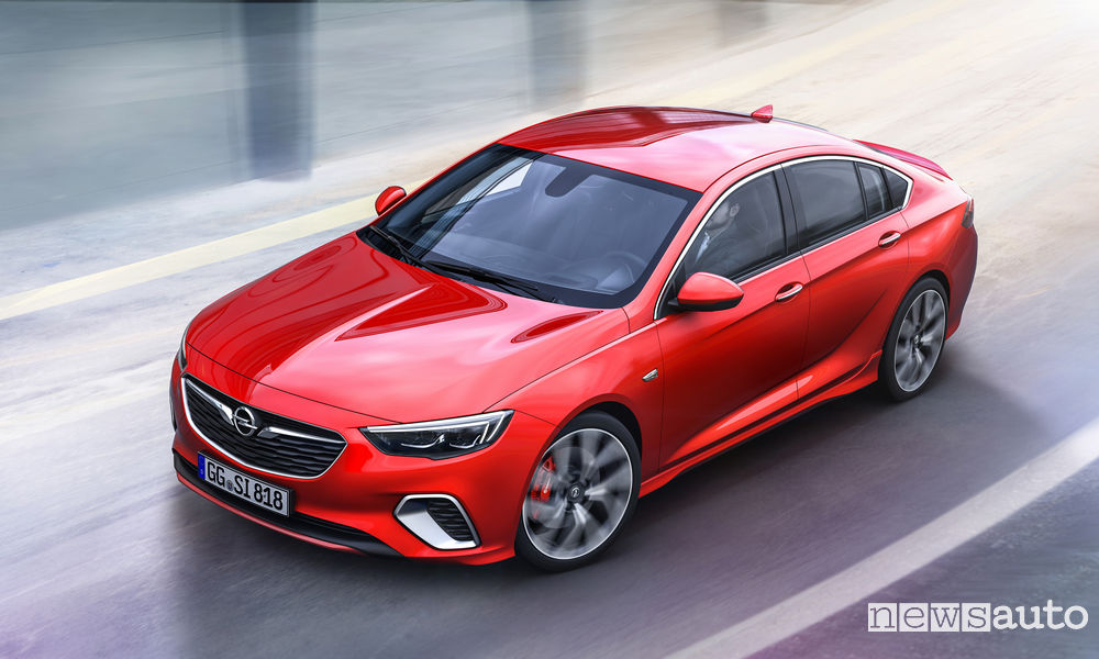 Photo of Le foto dell'Opel Insignia GSi