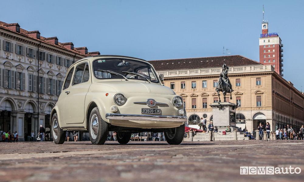 Circolazione auto storiche Torino Piemonte
