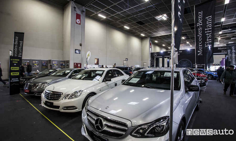 Vendite auto usate FirstHand Mercedes