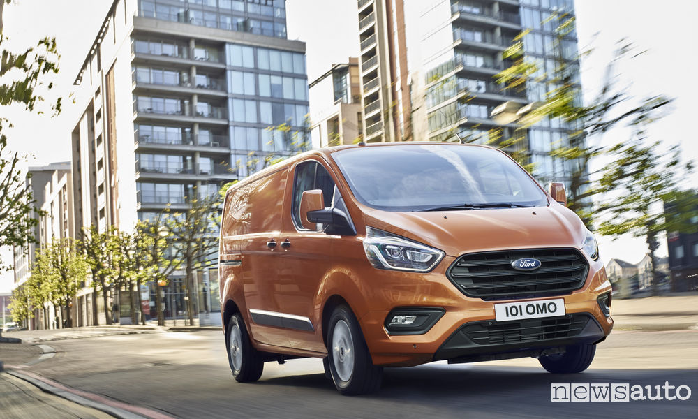 Photo of Nuovo Ford Transit Custom