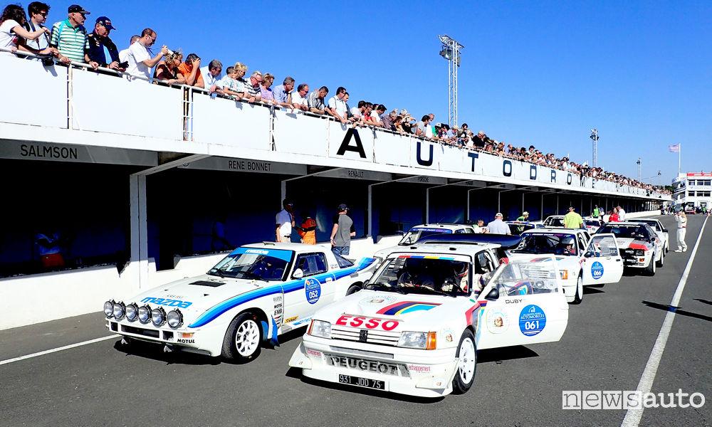 Photo of Foto Peugeot storiche Grandes Heures Automobiles