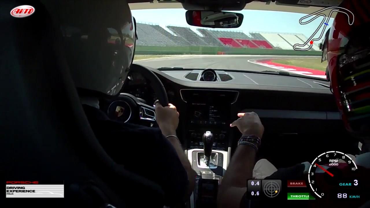 Photo of Video Porsche 911 GTS on board a Misano Adriatico Test Michelin