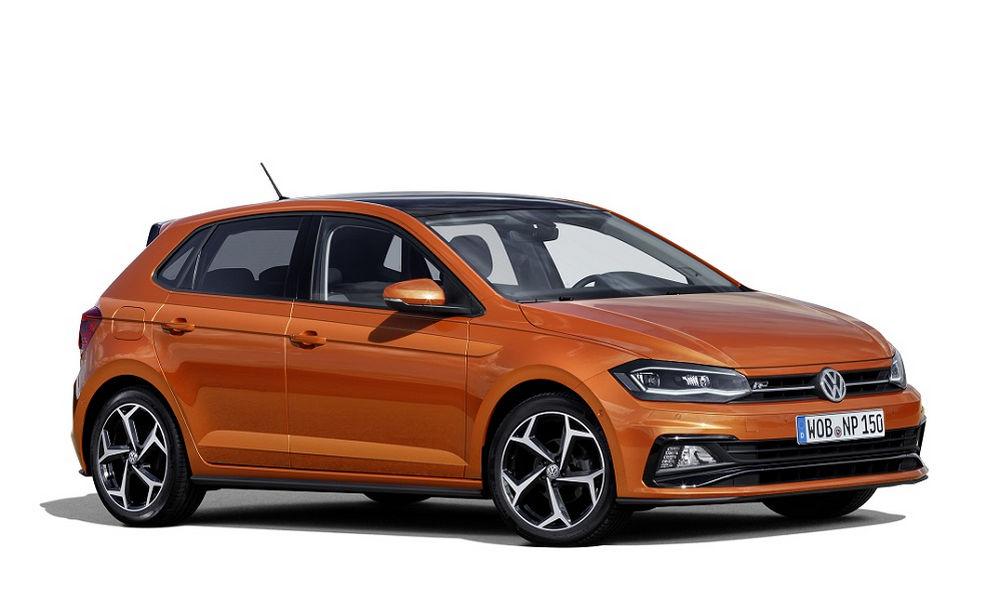 Vista di profilo Volkswagen Polo Sport