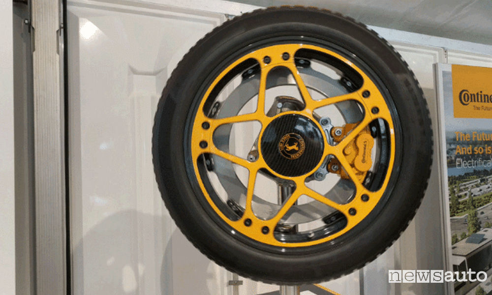 Photo of Continental concept ruota e freno per veicoli elettrici