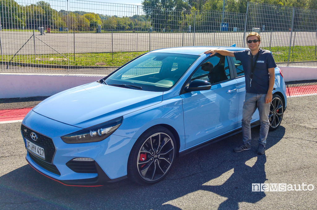 Photo of Hyundai i30 N la prova a Vallelunga