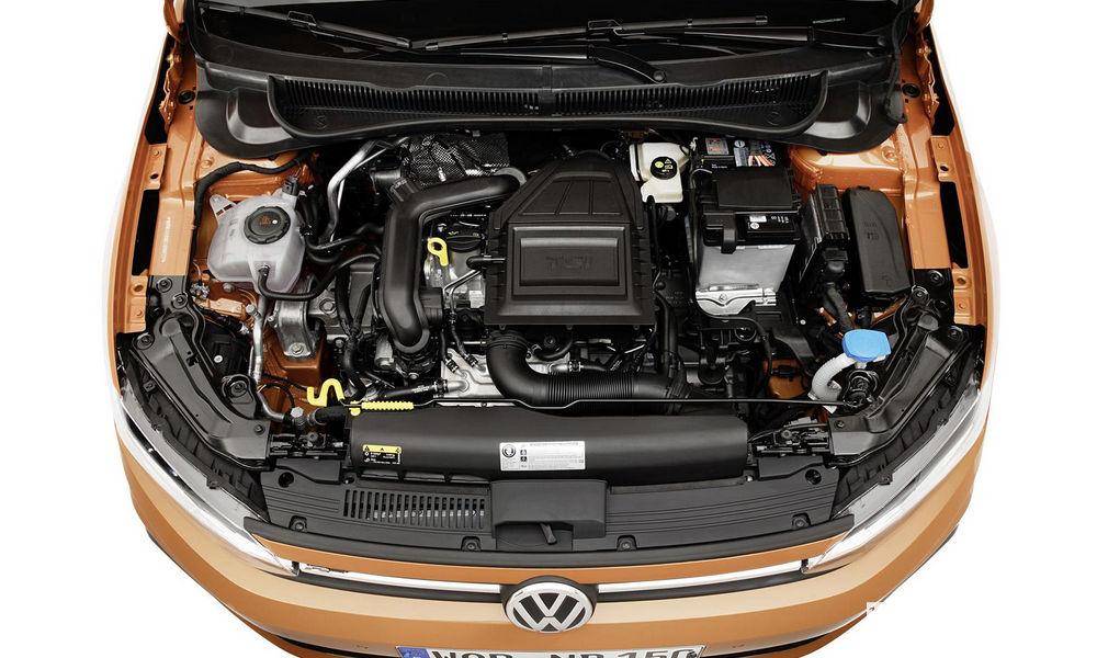 Vano motore TSI Volkswagen Polo