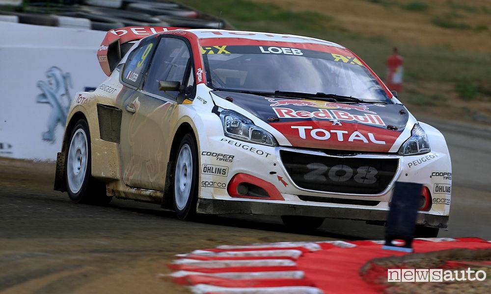 Photo of Peugeot WRX Rallycross Lettonia