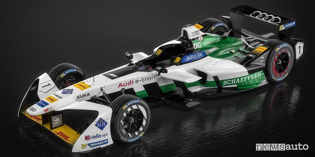 Audi ad Auto e Moto d'Epoca Formula E