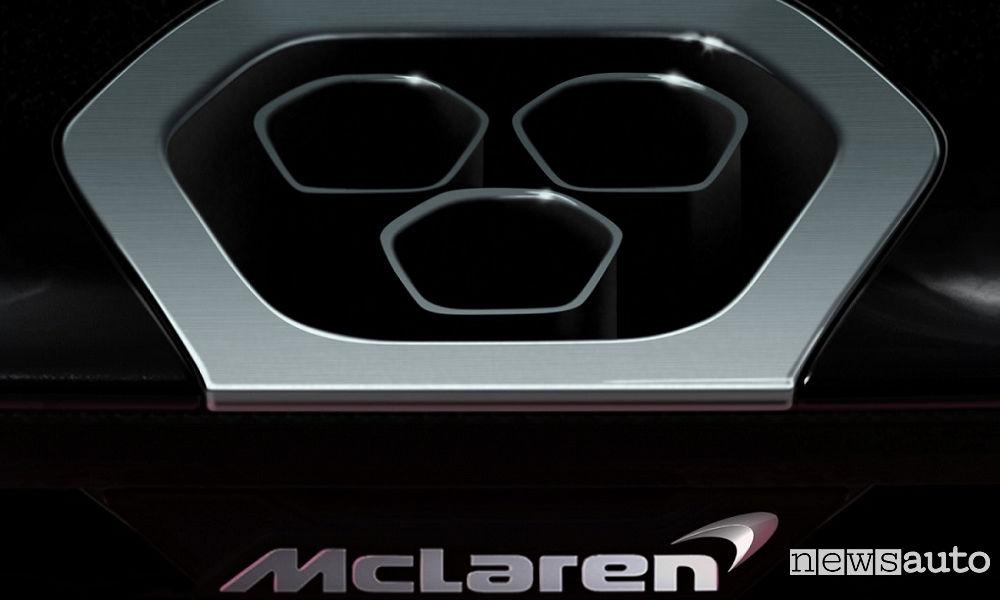 McLaren da pista omologata per la strada