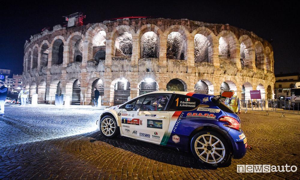 Rally Due Valli CIR 2017 Peugeot 208T16 Andreucci