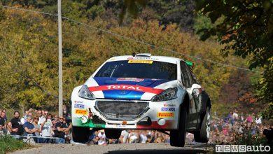 Rally Due Valli CIR 2017 Peugeot Andreucci