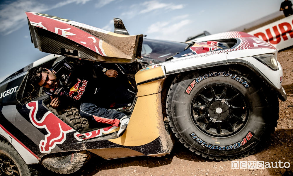 4^ tappa Rally del Marocco Peugeot 3008DKR