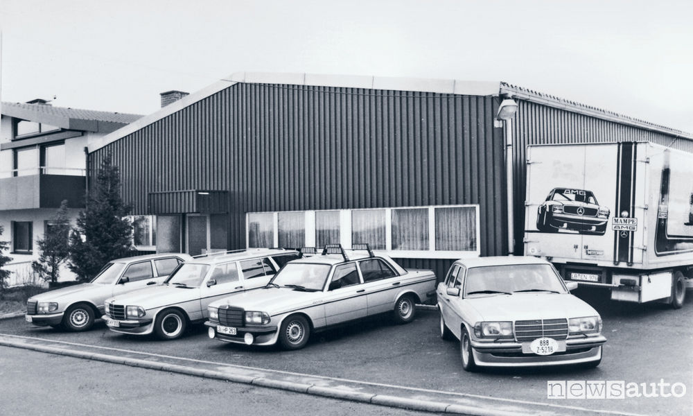 Mercedes-AMG a Padova 50 anni
