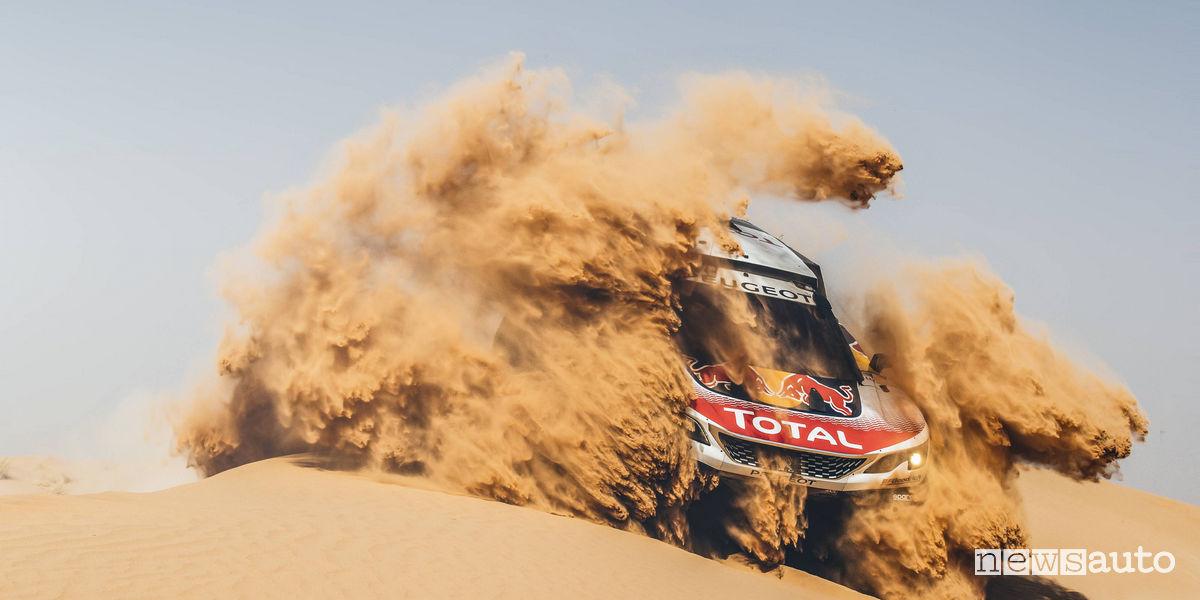 Test Dakar 2018 Peugeot 3008DKR Maxi