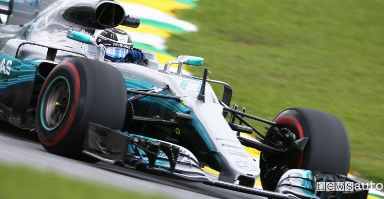 Qualifiche F1 Gp Brasile 2017 Bottas