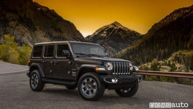 Foto nuova Jeep Wrangler