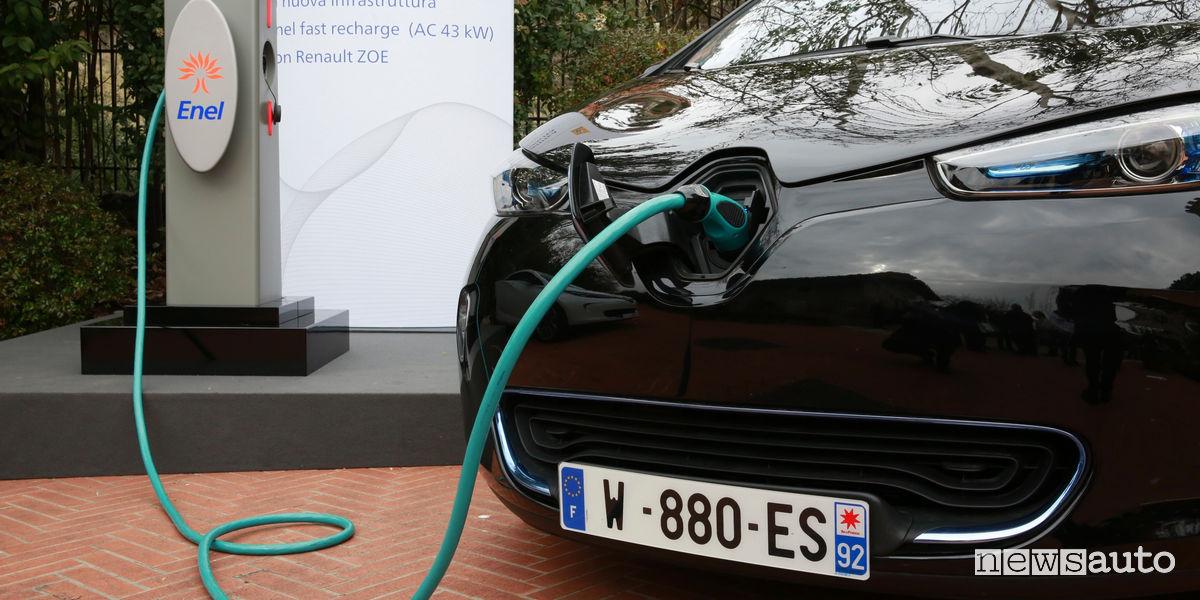 Incentivi auto elettriche Renault Zoe