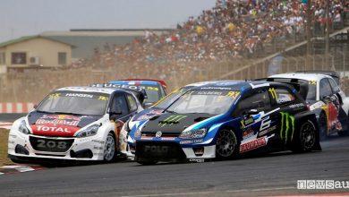 Photo of WRX Rallycross Sudafrica 2017 Peugeot è vicecampione