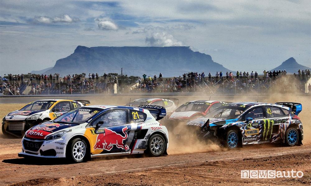 WRX Rallycross Sudafrica 2017 Peugeot