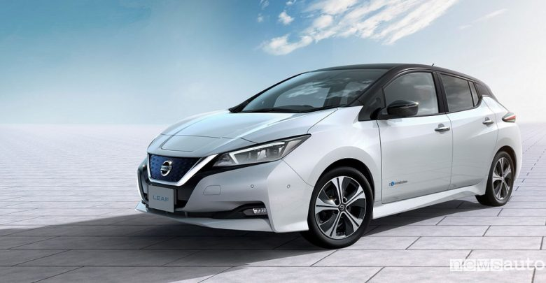 Ricarica auto elettriche Nissan Leaf 2018