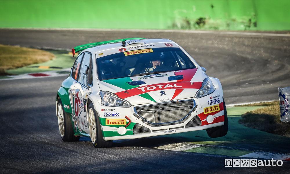 Peugeot Andreucci Monza Rally Show 2017