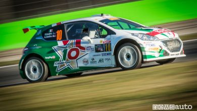Photo of Podio Peugeot Monza Rally Show 2017 con Andreucci in R5