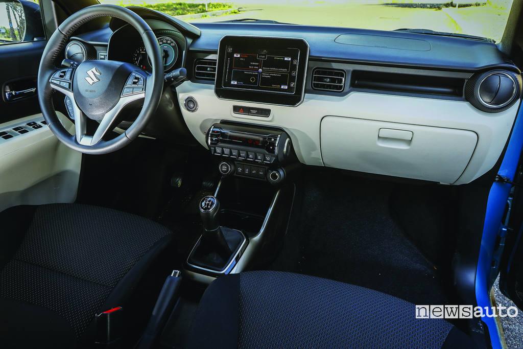 Suzuki Ignis caratteristiche interni