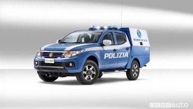 Fiat Fullback alla Polizia Scientifica