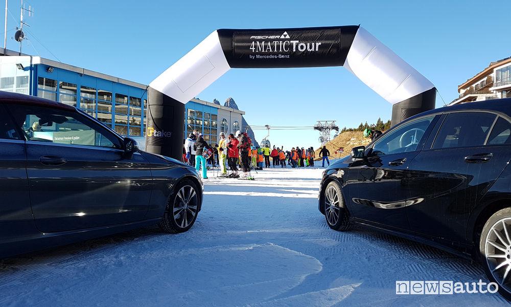 Mercedes 4Matic, calendario tour invernale 2018/19