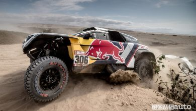 Dakar 2018 classifica 4^ tappa (Loeb - Peugeot 3008DKR Maxi)