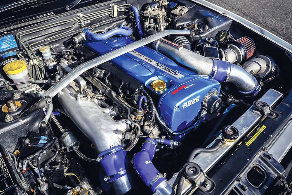 Nissan Skyline GTR R32 motore