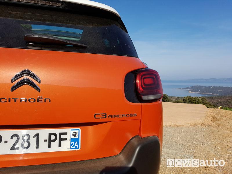 Citroen C3 Aircross prova Corsica