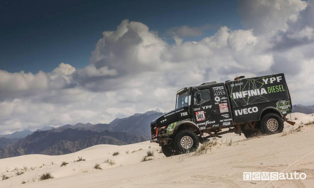 Dakar 2018 11^ tappa Belén-Chilecito camion (Iveco-Villagra)
