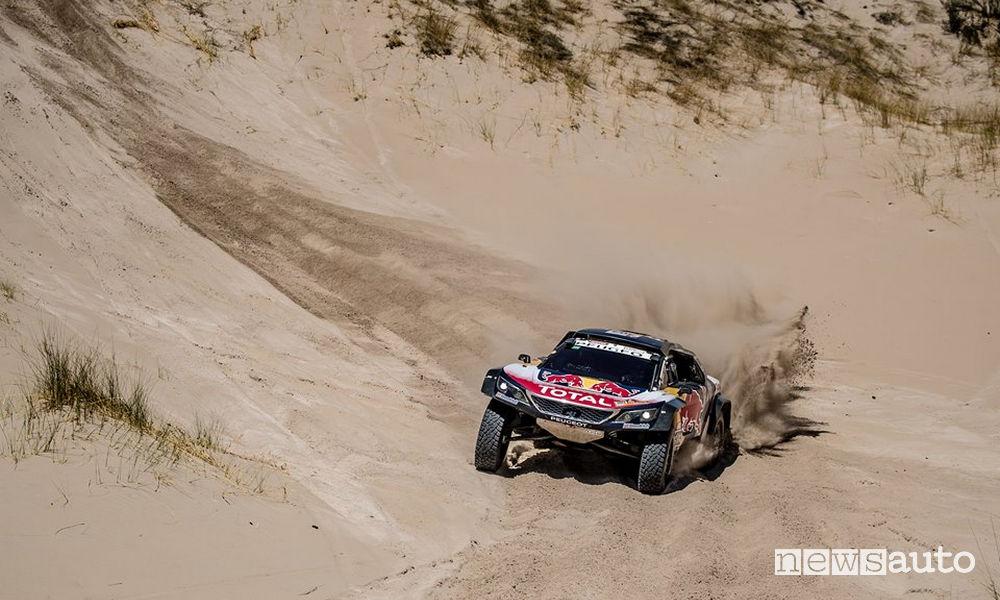 Dakar 2018 11^ tappa Peugeot Sainz