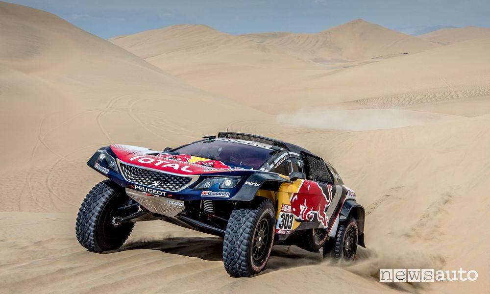 Dakar 2018 Peugeot 3008DKR Maxi