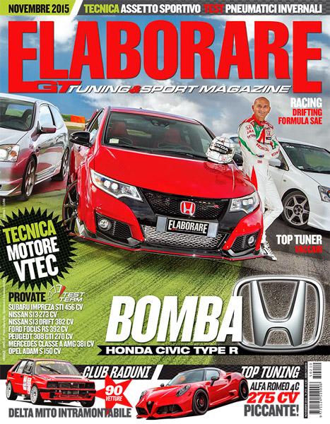 rivista ELABORARE tuning Alfa Romeo 4C