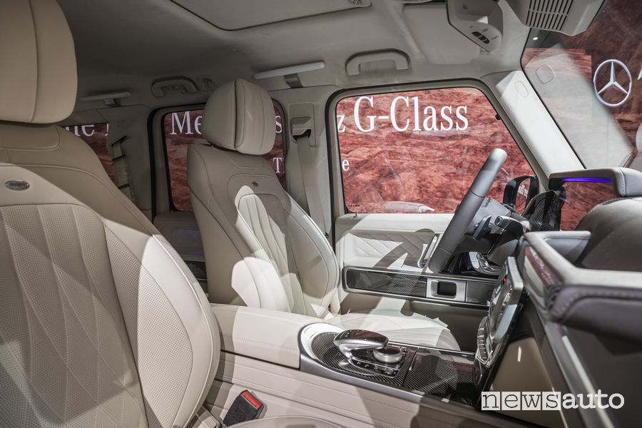 Mercedes-Benz Classe G 2018 presentazione Detroit