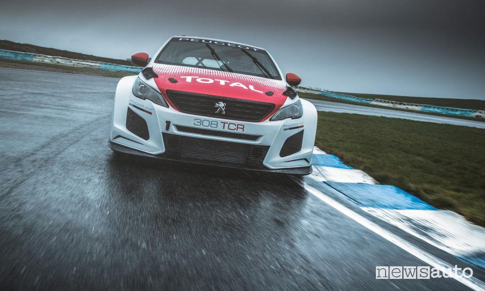Peugeot 308 TCR auto da corsa