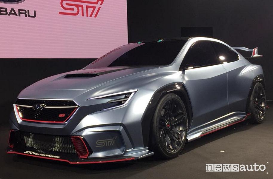 Auto elaborate Subaru VIZIV Performance STI