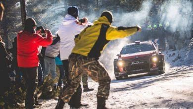 Rally di Montecarlo 2018 Citroen C3 WRC