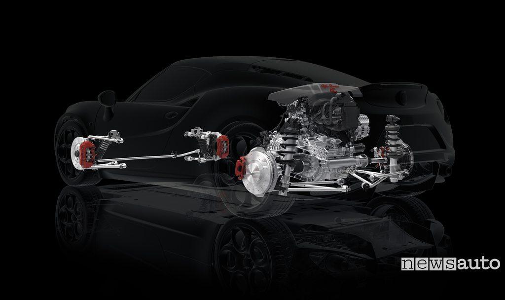 Gruppo sospensioni motore freni Alfa_Romeo_4C