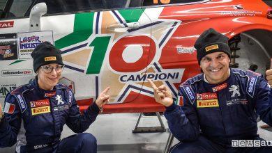 Photo of Peugeot rally 2018 con Paolo Andreucci e la 208 T16