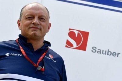 Team Principal Alfa Romeo-Sauber Frédéric Vasseur