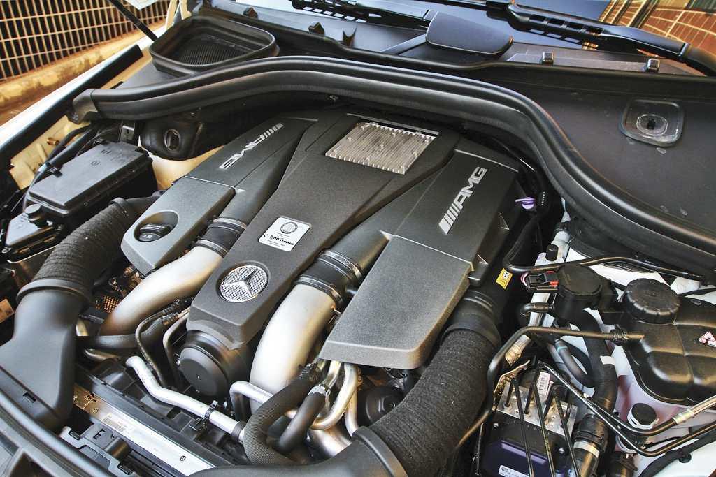Mercedes-AMG GLE 63 S motore