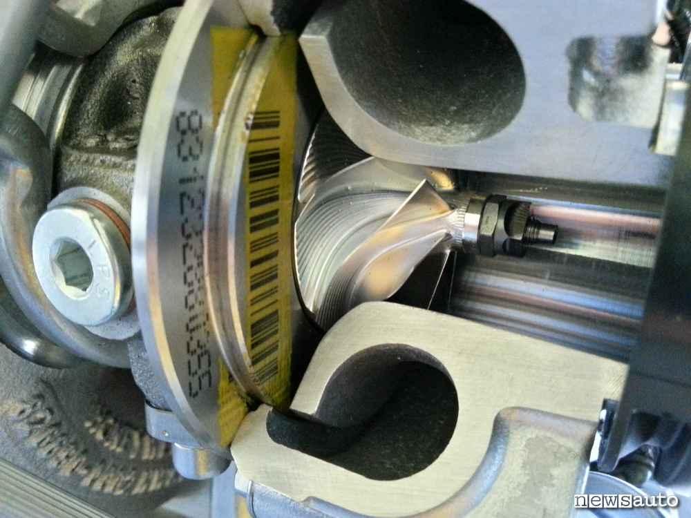 PSA Puretech 3 cilindri chiocciola turbo