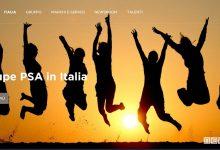 sito web per Groupe PSA Italia