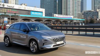 Guida autonoma Hyundai Nexo test Seul